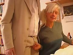 blonde daughter