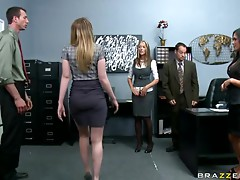 Incredibly Busty Blonde Kagney Linn Karter Gets Fucked and Facialized