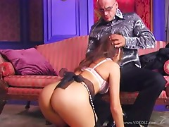 Horny Asian Babe Katsuni Sucks a Big Cock and Then Gets Ass Fucked
