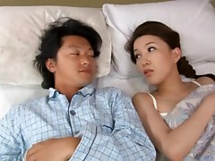 Cute Japanese Babe Woke Up Horny For Sex