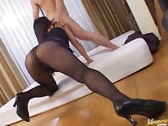 Stunning Asian Mature Babes Get Fucked Hard in a Wild Swinger Party