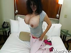 MILF with massive tits