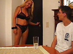 Horny German Mother Teach Her Son How To Fuck