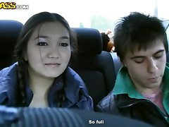 Asian Teen Knows Damn Well How To Give Head