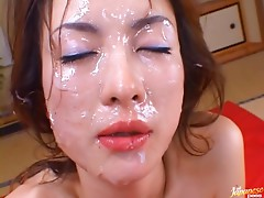Hot Asian Slut Gets Facialized