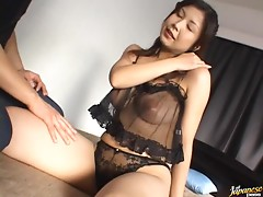 A Good Sucking and Fucking Action With a Sexy Asian