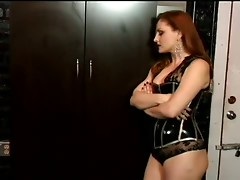 Mistress Jemini Spanks Her Slave's Ass