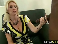 Sexy Busty Milf Like Big Black Cock video-14