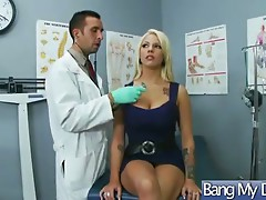 In Doctor Office Pacients Get Hard Sex video-26