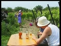 German Gangbang At The Vineyard