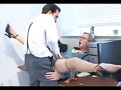 Hayley Rivers Rimmed And Fucked By Boss