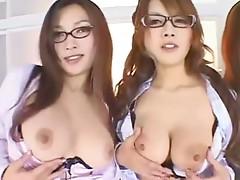 OPPAI Female Teacher Special Reina, Haruka, You & Yuka