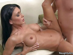 Jessica Jaymes is a beautiful dark haired MILF with perfect