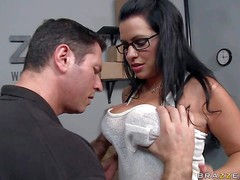 Julie Cash is a strict black haired woman with wonderful