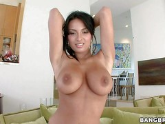 Anissa Kate is a dark haired stunner with perfect big