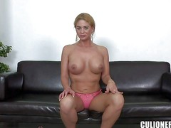 Cathy Heaven is another newbie who is ready to enter