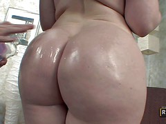 Daphne Rosen is a curvy hot brunette with enormous tits
