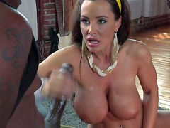 Lisa Ann is a hot bodied MILF with amazing gigantic