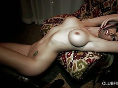 Lovely Melissa Jacobs is a big boobed beauty with perfect