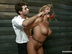 Charisma Cappelli with huge perfect boobs is an incredibly sexy
