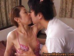 Mature Misa Tachibana Rides To An Orgasm