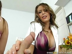 Smoking Hot Dr.Presley Gives A Patient The Medicine To Feel Better