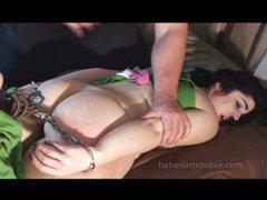 Kelli Lynn Sage spanking session