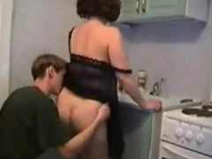 Housewife Fucked In Her Kitchen