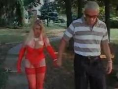 Hot Italian Mature Has Hot Sex Outdoor