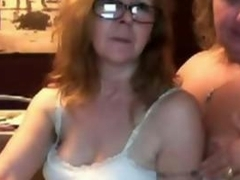 2 Mature Friends teasing for our webcam