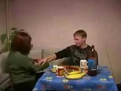 Russian Mature on Younger Guy
