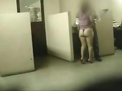 esposa en la oficina