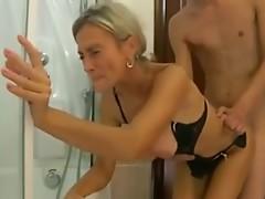 Hot Mom Bathroom Fuck