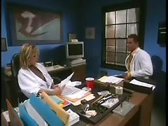 blonde big tits bbw meets Dr. Boner