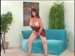 fat mature masturbating and wants real cock