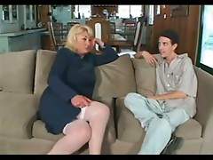 Chubby Big Tit Mature Dana Fucks Daughter's Boyfriend