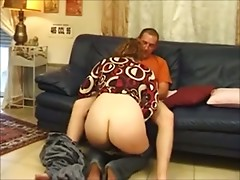 Lucky Young Man Fucks Big Titted Mom