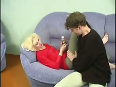 Young boy fuck mature lady