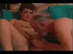 Old Man Fucks Mature Wife