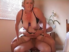 Mature masturbation and fuck