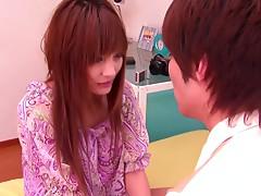 Kirara Asuka the hot Japanese with hot tits wants hard cock so bad!