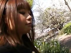 Shizuku Hasegawa gets doggy sex and a cumshot
