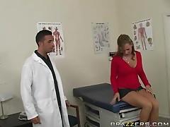 Lewd doctor Keiran Lee fucks his sexy patient Nikki Sexx