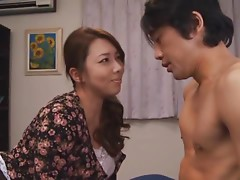 Yumi Kazama Hot Busty Japanese Housewife Drilled in Hardcore Sex Clip