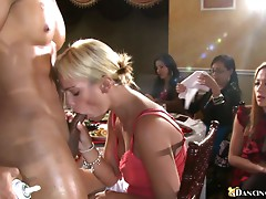 Many Chicks Suck Dick & Get Fucked By Strippers.
