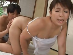 Yukari Orihara hot mature Japanese woman is kinky