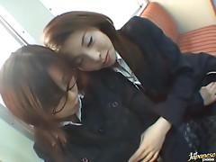 Three Lesbian Teachers Eat Pussies On The Classroom Floor