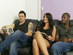 Easy Slut Gets Gangbanged.