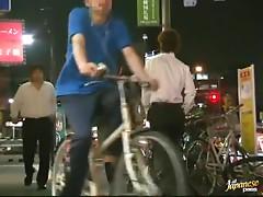 Drunk Tokyo girls sucks big dick and fucked