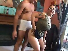 Miss Nina Swiss the sexy mature babe gets fucked hard